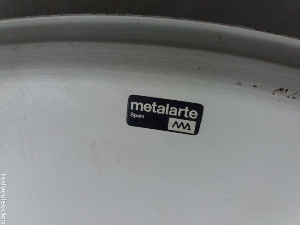 Vintage: Pantalla para lámpara vintage metalarte - Foto 2 - 220882227