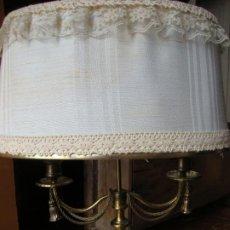 Vintage: LAMPARA DE SOBREMESA, DOS BRAZOS. Lote 221709397