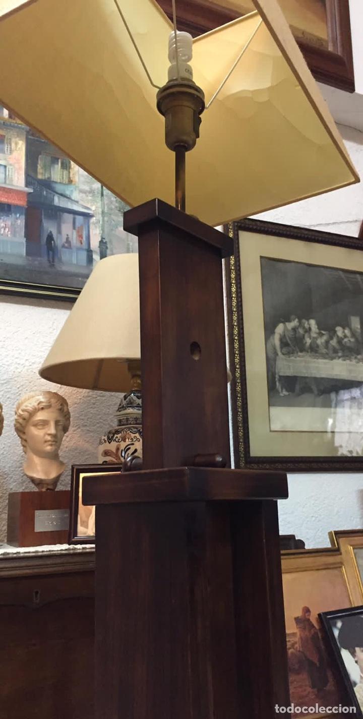 Vintage: Lámparas Madera Regulables Vintage - Foto 5 - 223681157