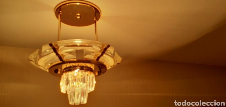 Vintage: Lampara de techo en metacrilato y cristal - Foto 2 - 223843091