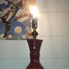 Vintage: LAMPARA DE MANISES PIÑA. Lote 225379700