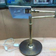 Vintage: LAMPARA DE BRONCE. Lote 225863530