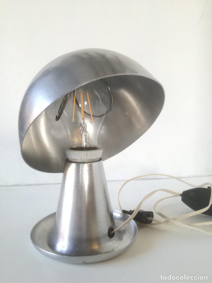 Vintage: LAMPARA MESA BAUHAUS SETA AÑOS 30-40 // ESTILO JOSEF HURKA NAPAKO DISEÑO INDUSTRIAL ART DECO VINTAGE - Foto 10 - 226125465