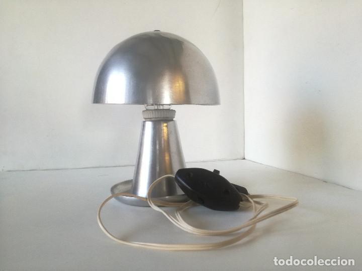 Vintage: LAMPARA MESA BAUHAUS SETA AÑOS 30-40 // ESTILO JOSEF HURKA NAPAKO DISEÑO INDUSTRIAL ART DECO VINTAGE - Foto 2 - 226125465