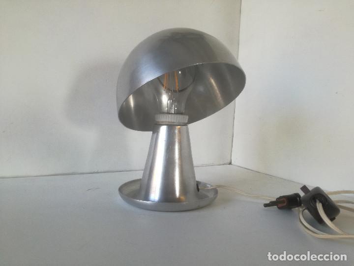 LAMPARA MESA BAUHAUS SETA AÑOS 30-40 // ESTILO JOSEF HURKA NAPAKO DISEÑO INDUSTRIAL ART DECO VINTAGE (Vintage - Lámparas, Apliques, Candelabros y Faroles)