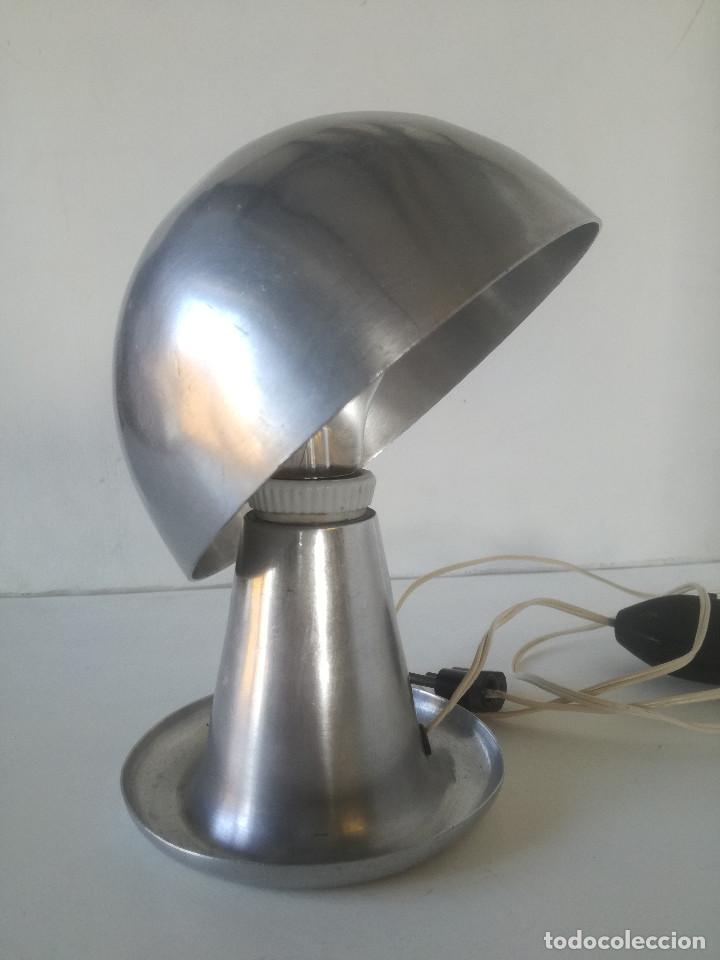 Vintage: LAMPARA MESA BAUHAUS SETA AÑOS 30-40 // ESTILO JOSEF HURKA NAPAKO DISEÑO INDUSTRIAL ART DECO VINTAGE - Foto 3 - 226125465
