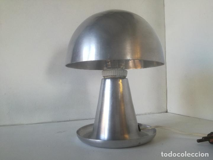 Vintage: LAMPARA MESA BAUHAUS SETA AÑOS 30-40 // ESTILO JOSEF HURKA NAPAKO DISEÑO INDUSTRIAL ART DECO VINTAGE - Foto 5 - 226125465