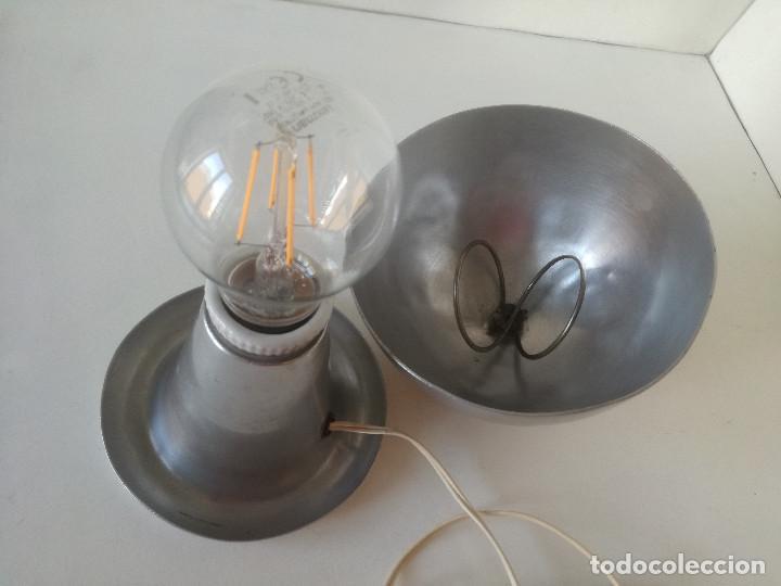Vintage: LAMPARA MESA BAUHAUS SETA AÑOS 30-40 // ESTILO JOSEF HURKA NAPAKO DISEÑO INDUSTRIAL ART DECO VINTAGE - Foto 7 - 226125465