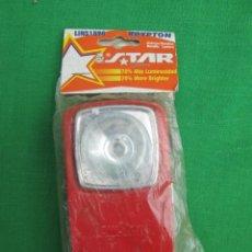Vintage: LINTERNA DE PETACA NEW STAR ORIGINAL SIN USAR. Lote 227724770