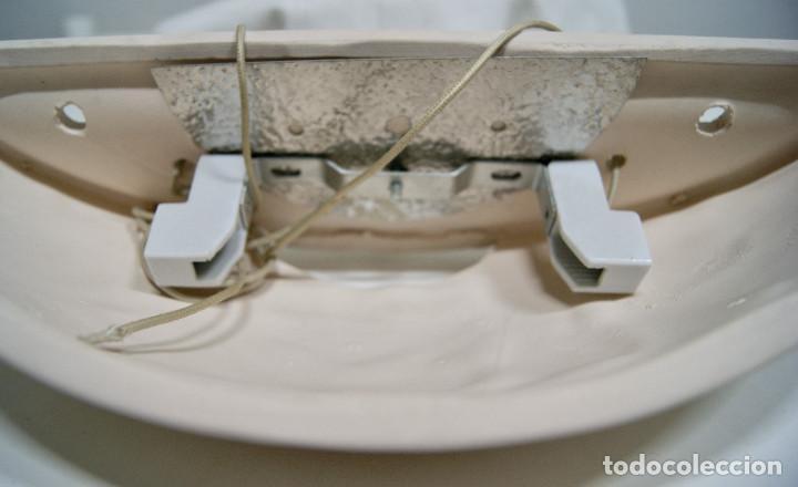 Vintage: Aplique cerámica en color blanco roto - Foto 6 - 228929365