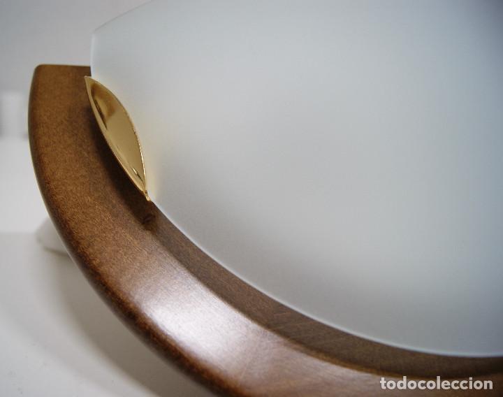 Vintage: Aplique madera y cristal - Foto 3 - 228931085