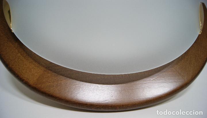 Vintage: Aplique madera y cristal - Foto 4 - 228931085