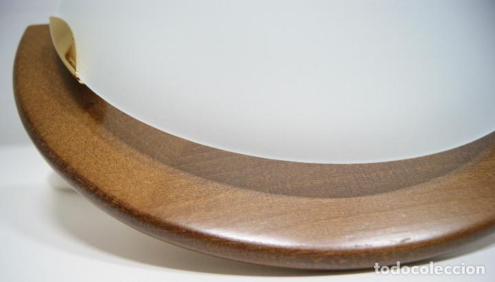 Vintage: Aplique madera y cristal - Foto 5 - 228931085