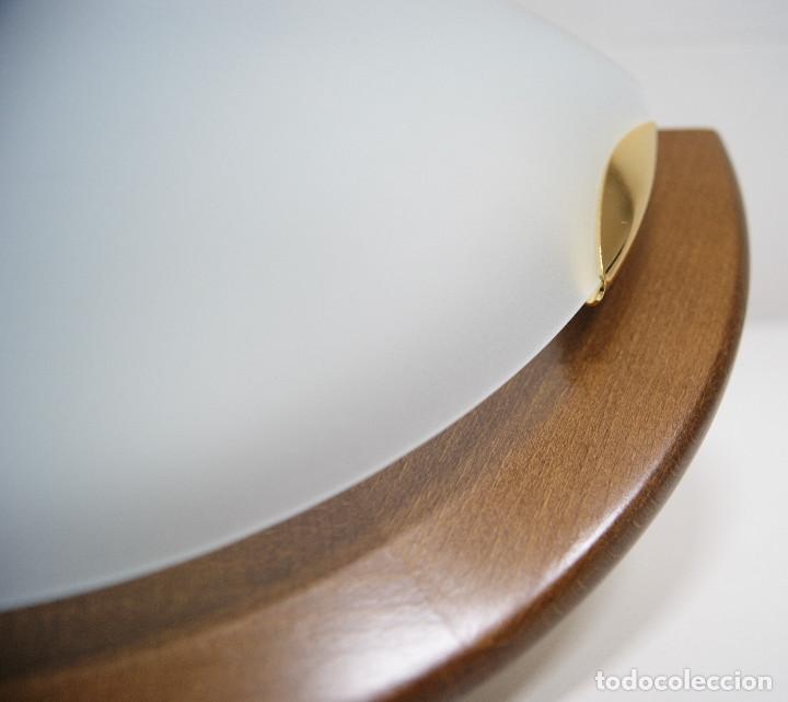 Vintage: Aplique madera y cristal - Foto 6 - 228931085