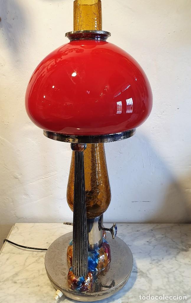 Vintage: LAMPARA QUINQUE VINTAGE - Foto 5 - 229474835