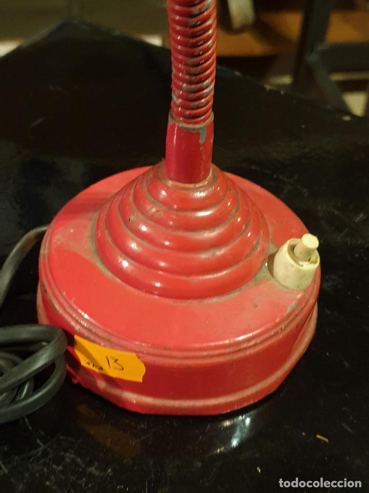 Vintage: ANTIGUO FLEXO ESCRITORIO VINTAGE FASE LAMPARA AÑOS 60-70 - Foto 13 - 214680055