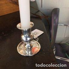 Vintage: CANDELABRO DE ALPACA (?). Lote 233758750
