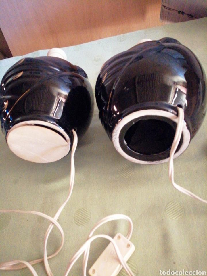 Vintage: Pareja lámparas sobremesa en porcelana - Foto 7 - 234512310