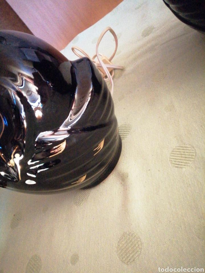 Vintage: Pareja lámparas sobremesa en porcelana - Foto 8 - 234512310