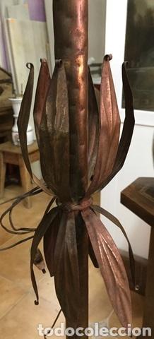 Vintage: Lámpara de pie de forja - Foto 7 - 234827495