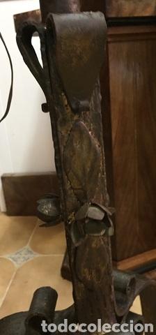 Vintage: Lámpara de pie de forja - Foto 9 - 234827495