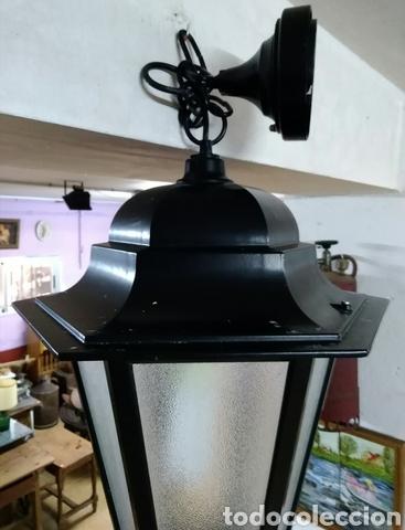 FAROL DE TECHO (Vintage - Lámparas, Apliques, Candelabros y Faroles)