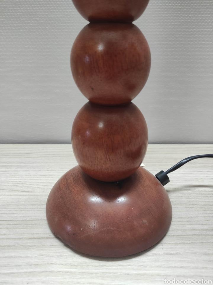 Vintage: Lámpara de mesa de diseño de madera - Foto 3 - 235145565