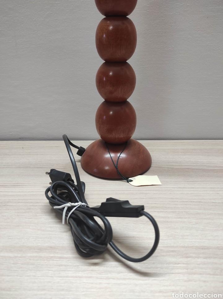 Vintage: Lámpara de mesa de diseño de madera - Foto 4 - 235145565