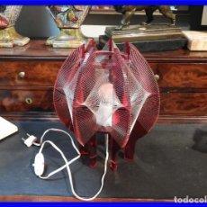 Vintage: PRECIOSA LAMPARA VINTAGE EN COLOR ROJO. Lote 236861750
