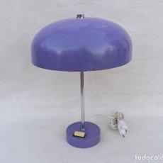 Vintage: LAMPARA DE MESA TIPO SETA, AÑOS 70. Lote 237938575