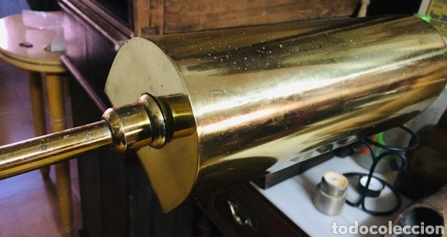 Vintage: Lámpara de pie de latón - Foto 6 - 239361865