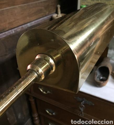 Vintage: Lámpara de pie de latón - Foto 9 - 239361865