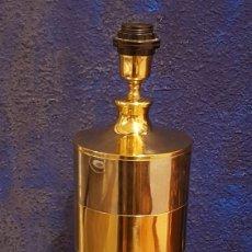 Vintage: LAMPARA DE MESA HOLLYWOOD REGENCY 2 METALES VINTAGE. Lote 243652810