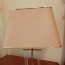 Vintage: PAREJA DE LAMPARAS VINTAGE DE METACRILATO-PERFECTO ESTADO-. Lote 248260535