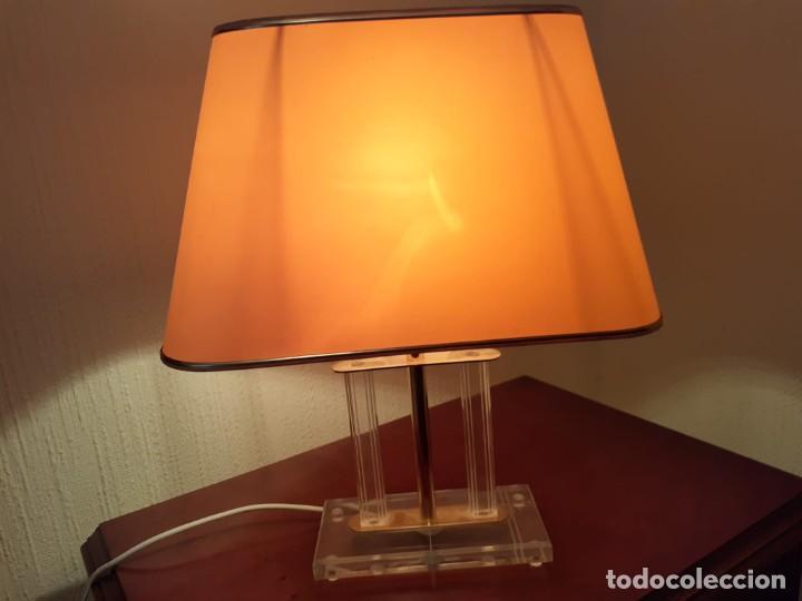 Vintage: PAREJA DE LAMPARAS VINTAGE DE METACRILATO-PERFECTO ESTADO- - Foto 2 - 248260535