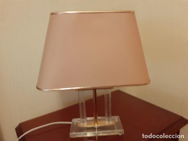Vintage: PAREJA DE LAMPARAS VINTAGE DE METACRILATO-PERFECTO ESTADO- - Foto 3 - 248260535