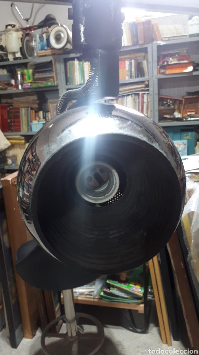 Vintage: Lampara ESFERAS soporte triple FASE leer descripción - Foto 4 - 248474090