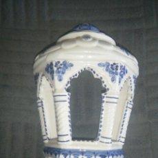 Vintage: PRECIOSO FAROL DE PARED DE CERÁMICA. Lote 249298090