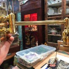 Vintage: LAMPARA APLIQUE DE PARED EN METAL DORADO - MEDIDA 27 CM. Lote 249568985