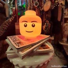 Vintage: LAMPARA CABEZA DE LEGO NIÑO TALLA S. Lote 236415250
