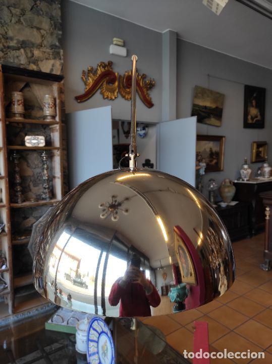 Vintage: Lámpara de Pie Grande en Arco - Latón - 2 Luces - Desmontable - Retro, Vintage - Foto 8 - 251196705