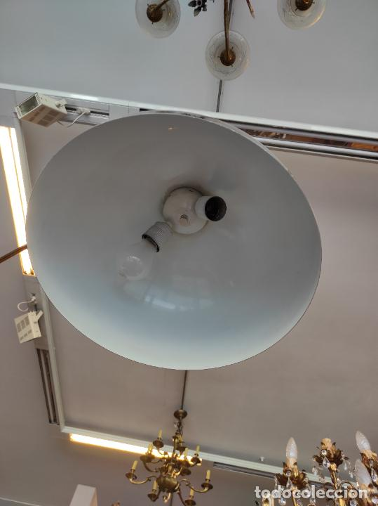 Vintage: Lámpara de Pie Grande en Arco - Latón - 2 Luces - Desmontable - Retro, Vintage - Foto 9 - 251196705