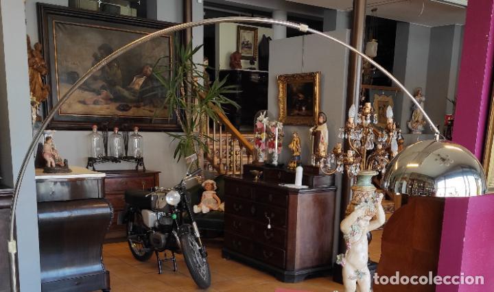 Vintage: Lámpara de Pie Grande en Arco - Latón - 2 Luces - Desmontable - Retro, Vintage - Foto 18 - 251196705