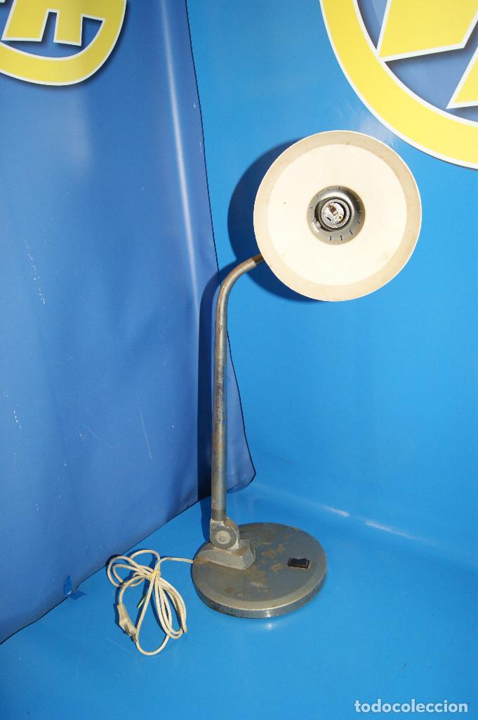 Vintage: Flexo vintage reclinable vintage - retro años 70- marca FASE - 57 cm de altura - Foto 11 - 253572920