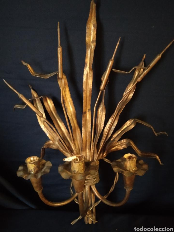 Vintage: Aplique hierro dorado espigas - Foto 2 - 254107475