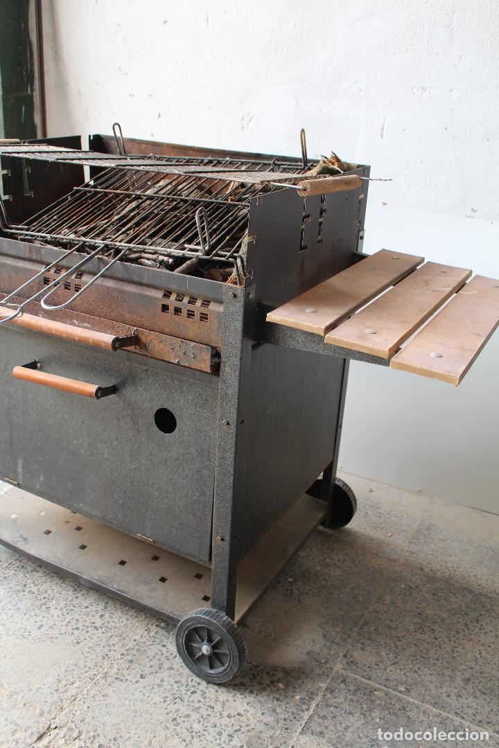 Vintage: barbacoa con ruedas - Foto 5 - 254484710
