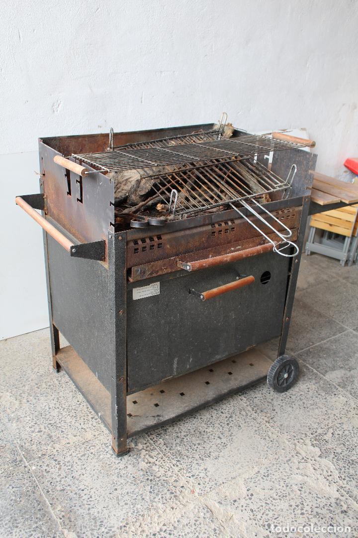 Vintage: barbacoa con ruedas - Foto 6 - 254484710