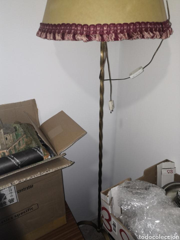 LÁMPARA DE PIE (Vintage - Lámparas, Apliques, Candelabros y Faroles)