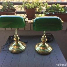 Vintage: LOTE DOS LAMPARAS DE ESCRITORIO. Lote 255568725