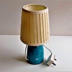 Vintage: LAMPARA PORCELANA - 29.CM ALTO. Lote 258517965
